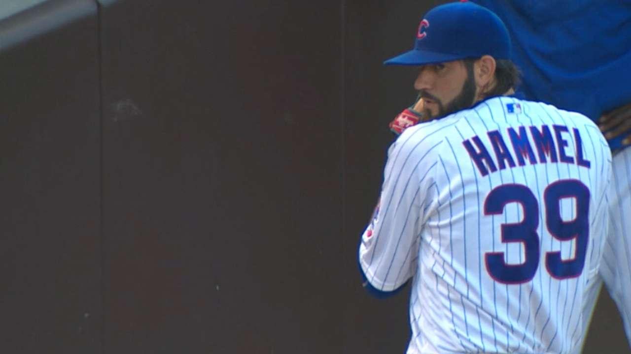 Cubs decline Hammel's option
