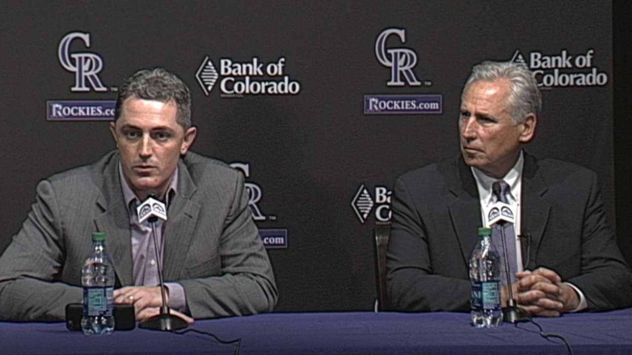 Bridich on Rox hiring Bud Black