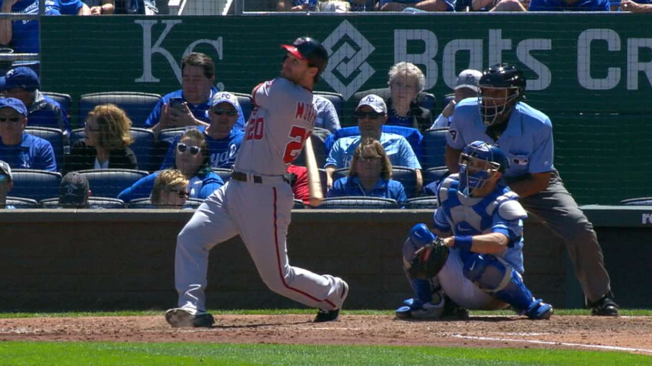 Up for NL MVP, Murphy vital to Nats' success