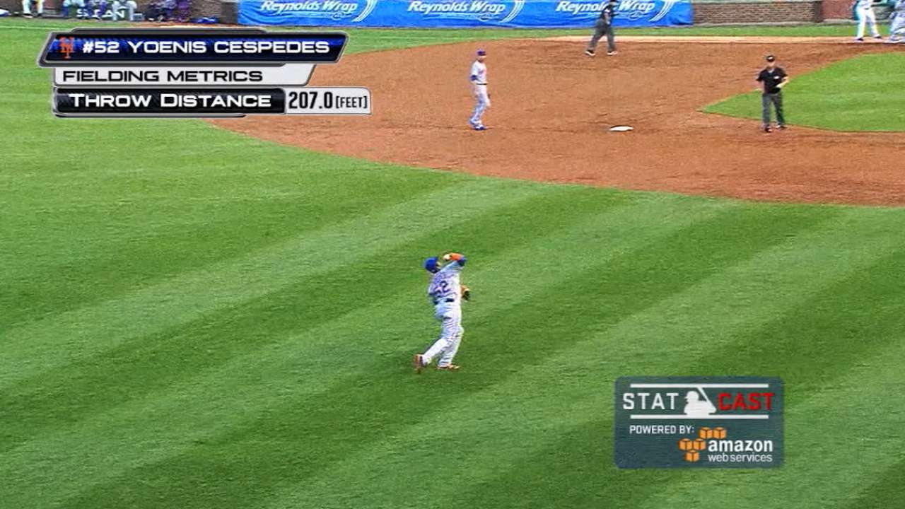 The most extreme Statcast throws of 2016