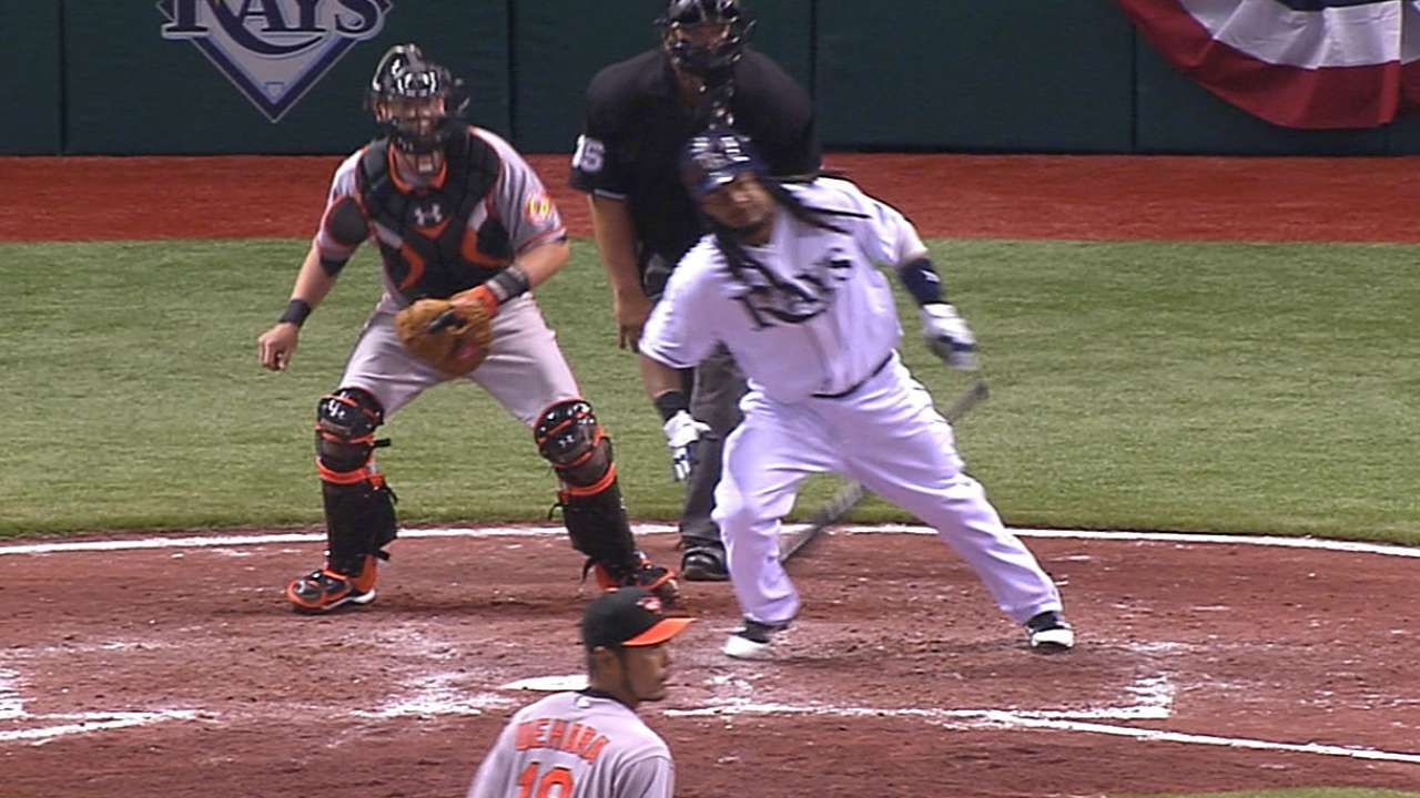 Manny's final Major League hit