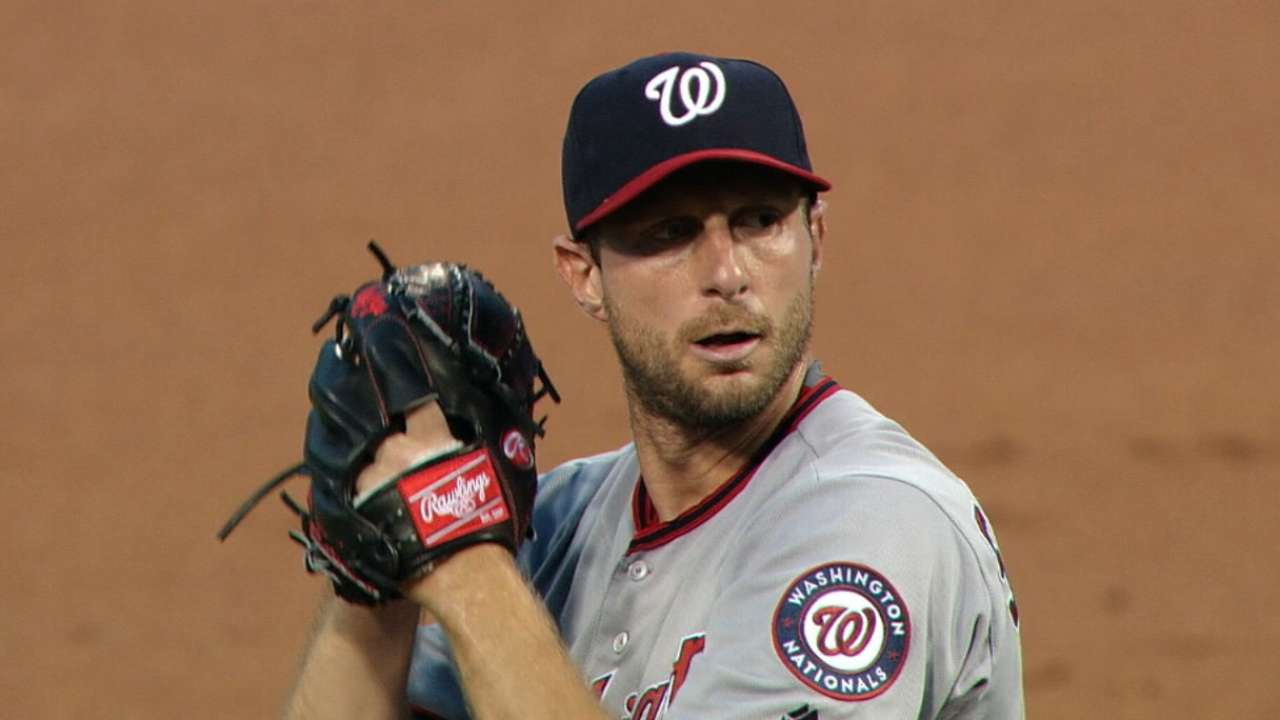 Scherzer plans to pitch in World Baseball Classic