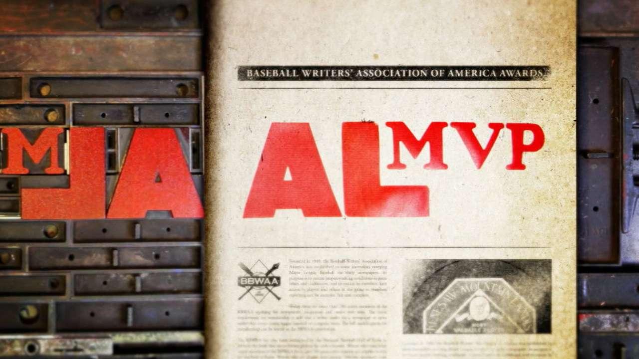 AL MVP Award finalists revealed