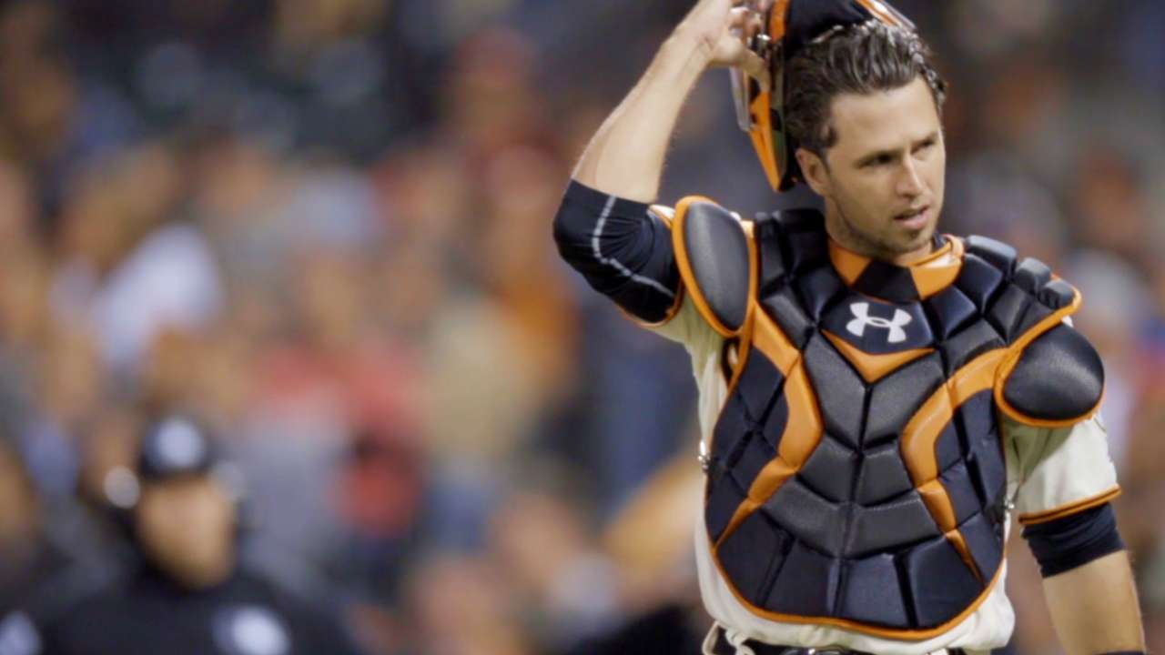 Posey wins Gold Glove