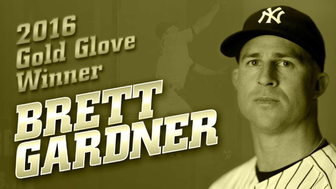 Gardner Wins Gold Glove