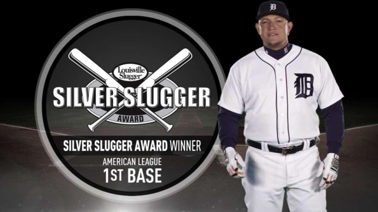 Miggy wins 7th career Silver Slugger Award