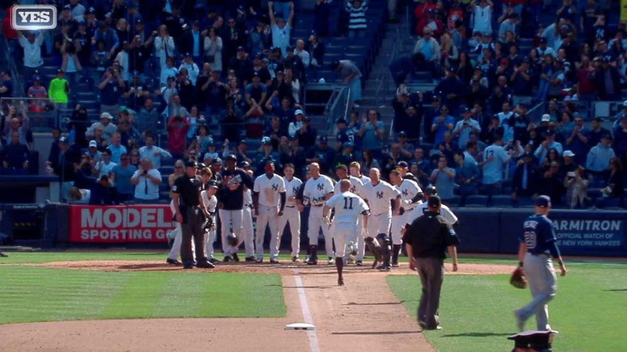 Yankees doblegan a Rays con HR de oro de Brett Gardner