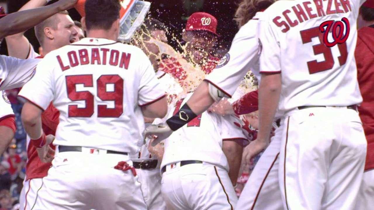 Nats' 16-inning win an emotional 'roller-coaster'