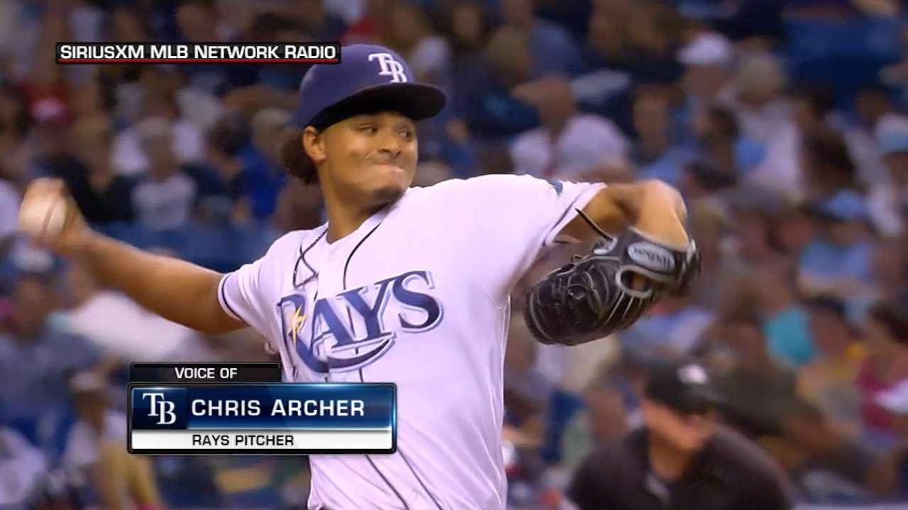 Archer on Rays' payroll