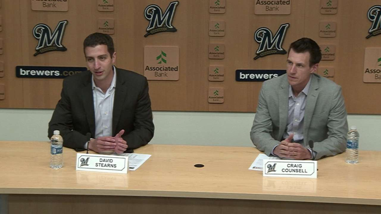 Brewers extend manager Counsell