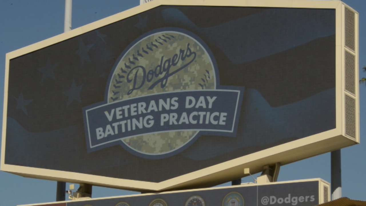 Dodgers connect to community with charitable work