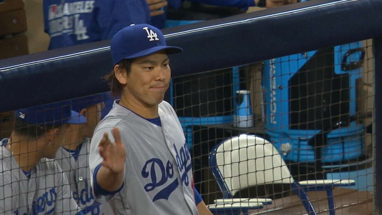 Maeda finishes third for NL ROY
