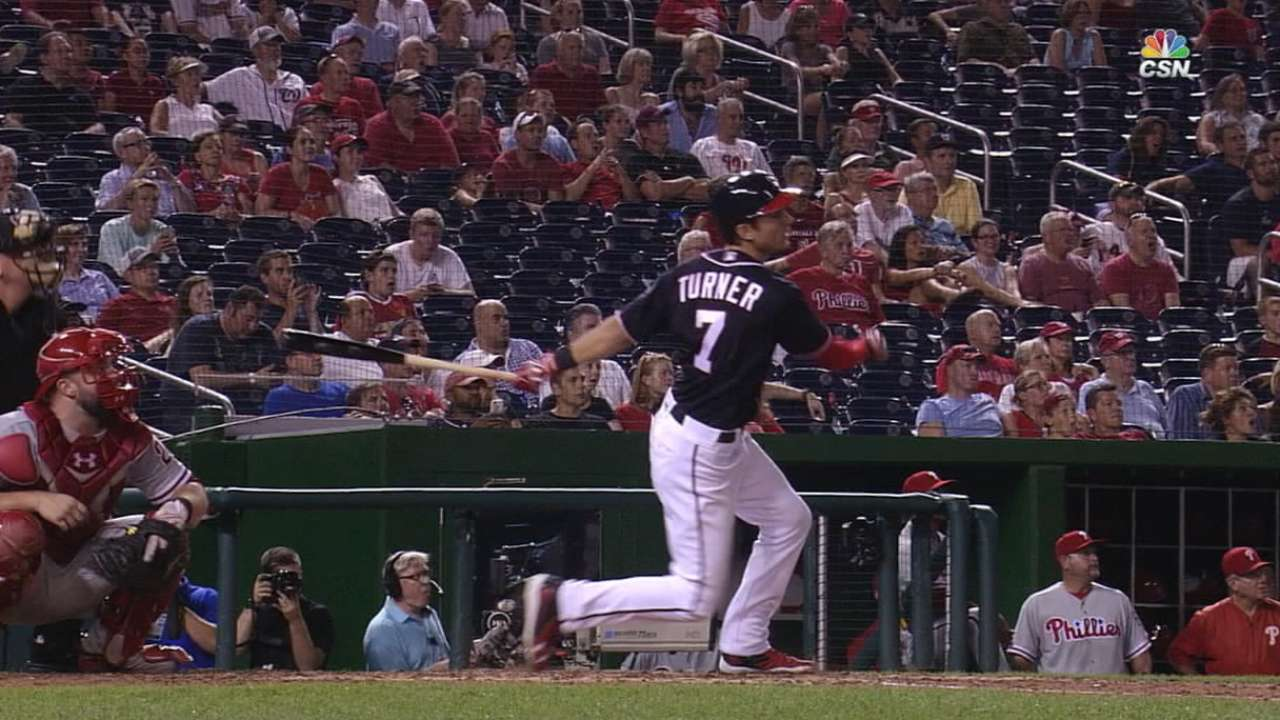 Turner finishes 2nd in NL Rookie vote