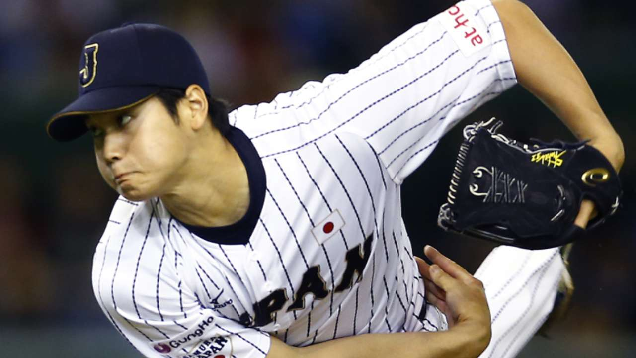 Ohtani awes at the plate in exhibition games