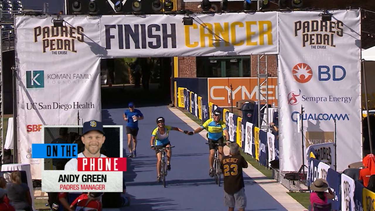 'Padres Pedal the Cause' paves way for cancer research