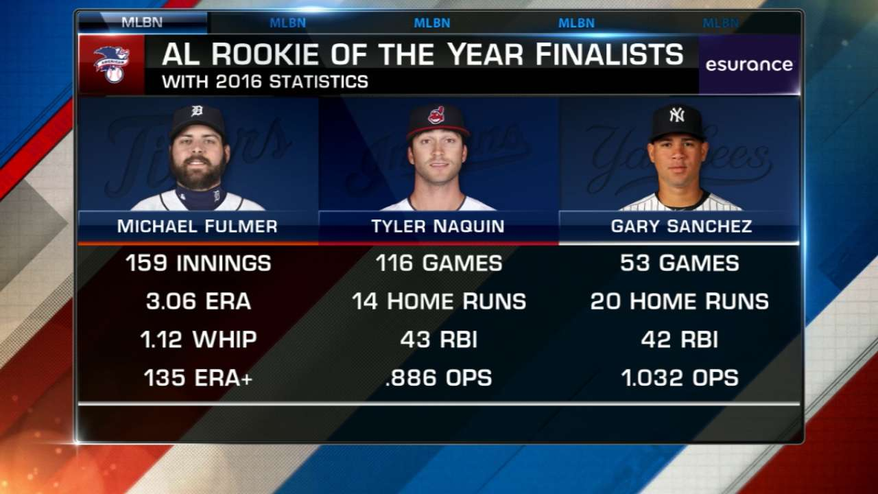 Phenoms vie for ROY (6 ET, MLB Network)