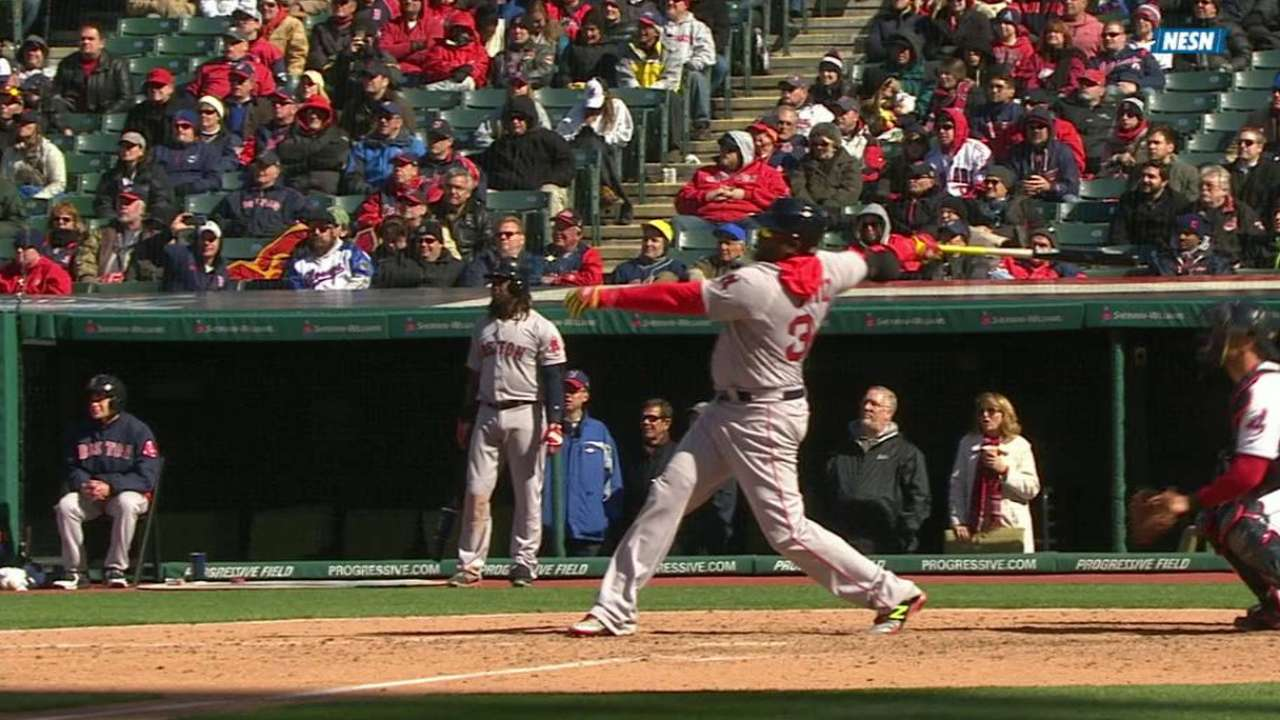 Papi punctuates final Opening Day with 2-run shot