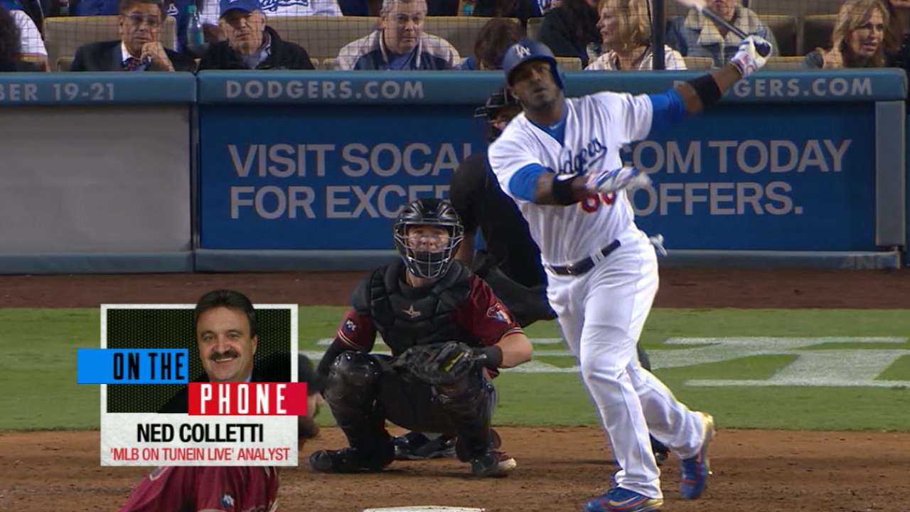 Colletti on what's next for Puig