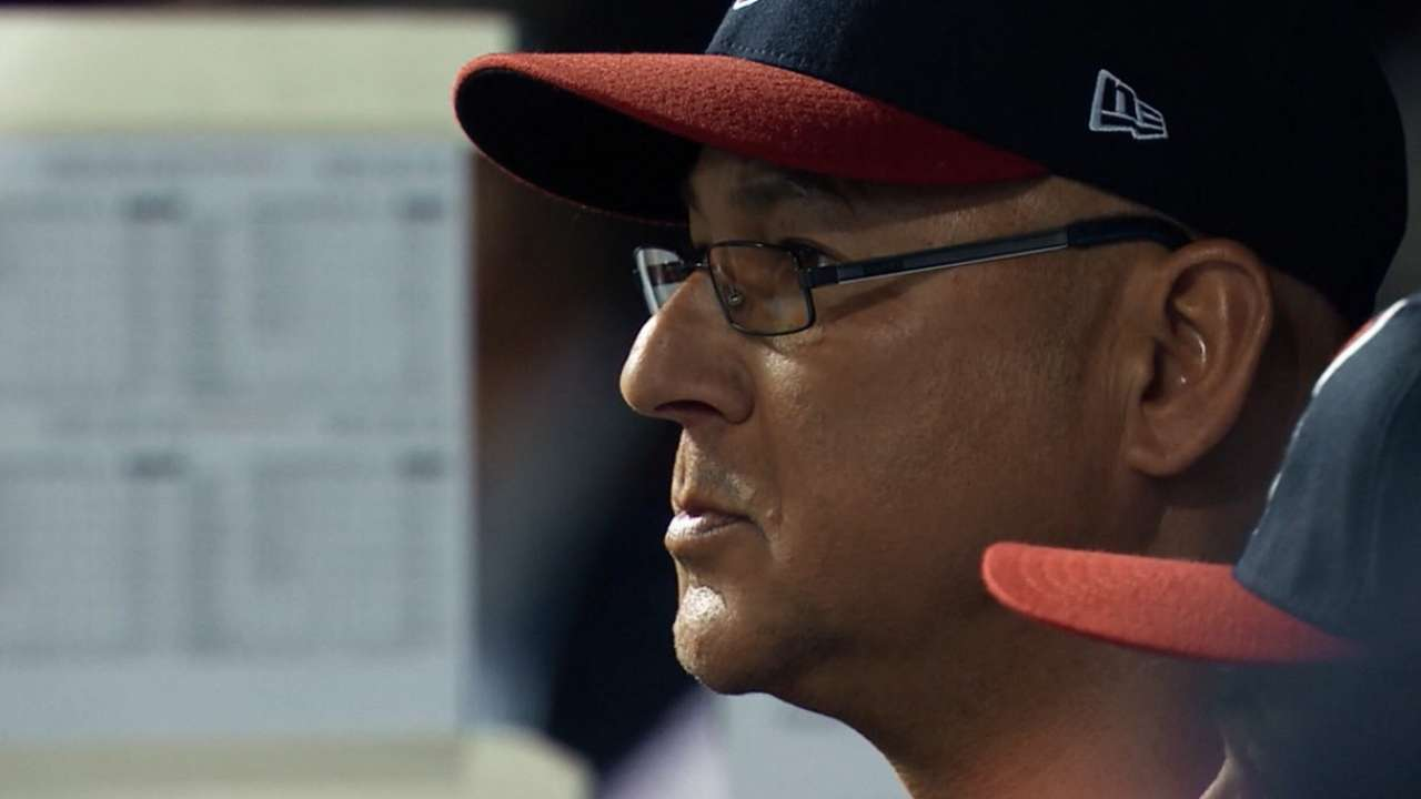 Francona on staying in moment