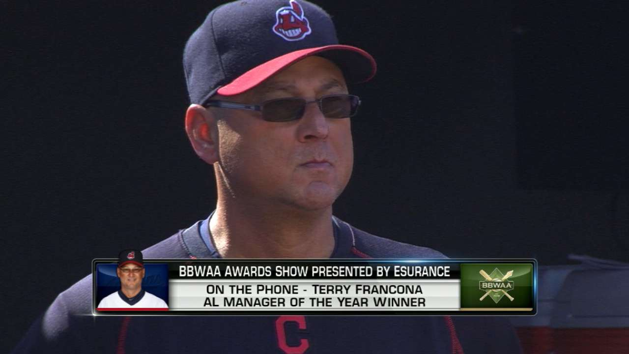 Francona, Roberts showed steady leadership