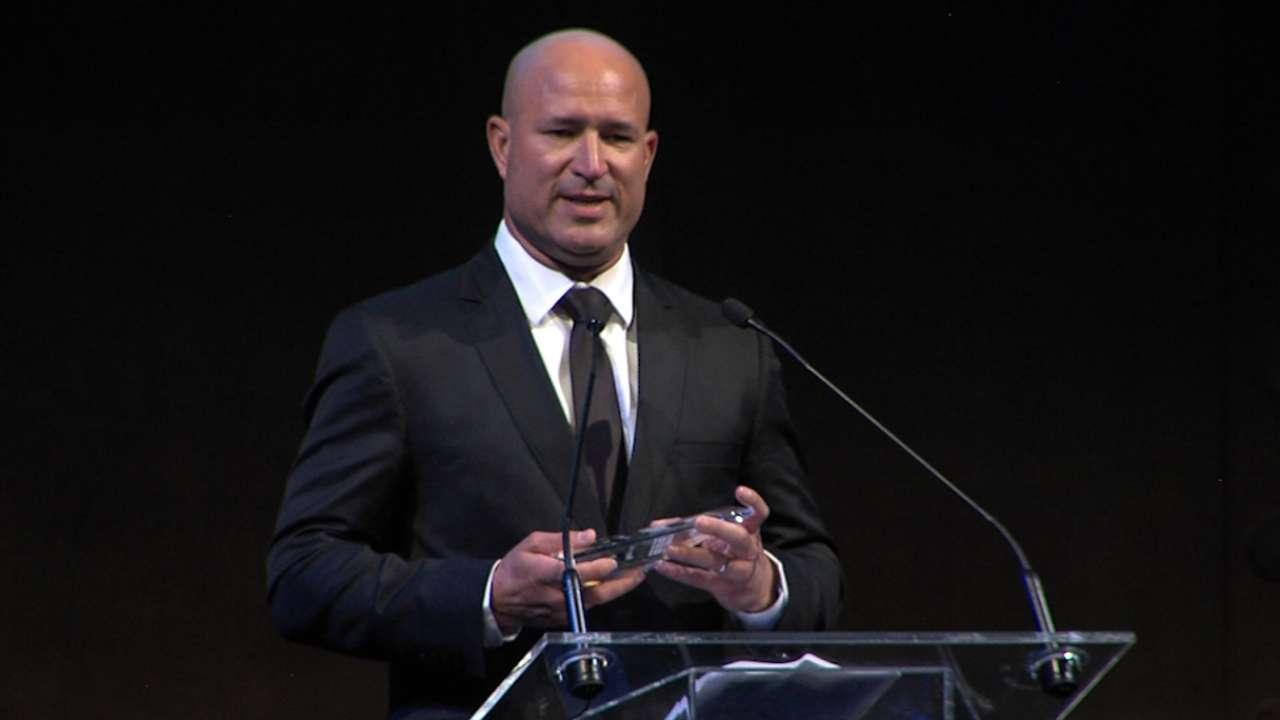 Acta wins MLBPAA Service Award