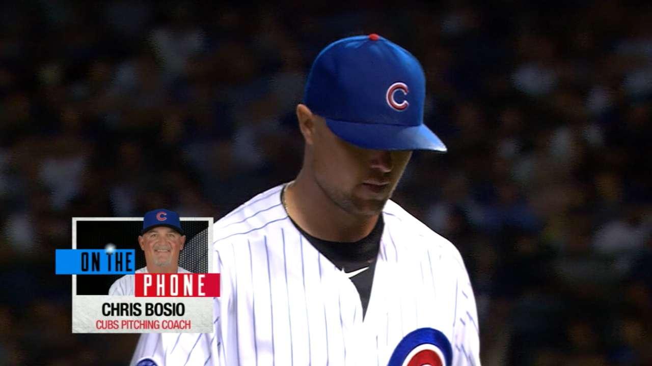 Bosio on Lester's prep for 2016