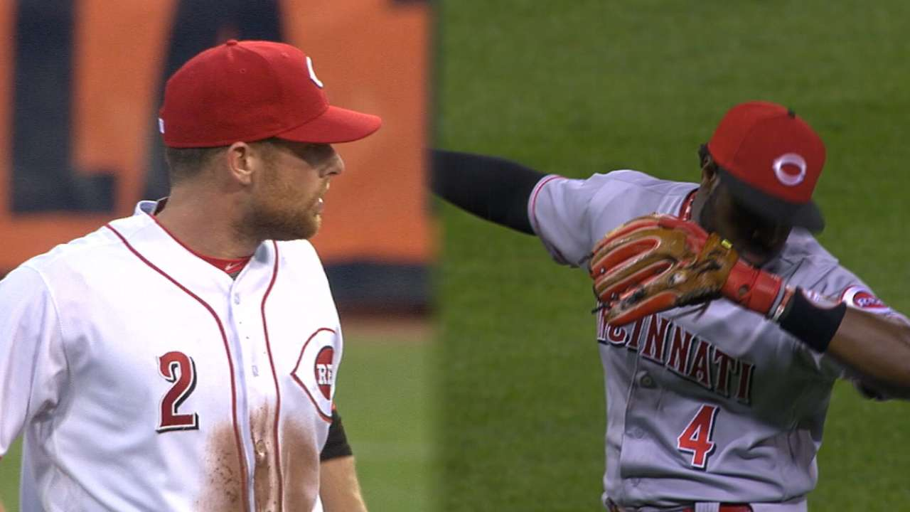 Reds may move Cozart, Phillips