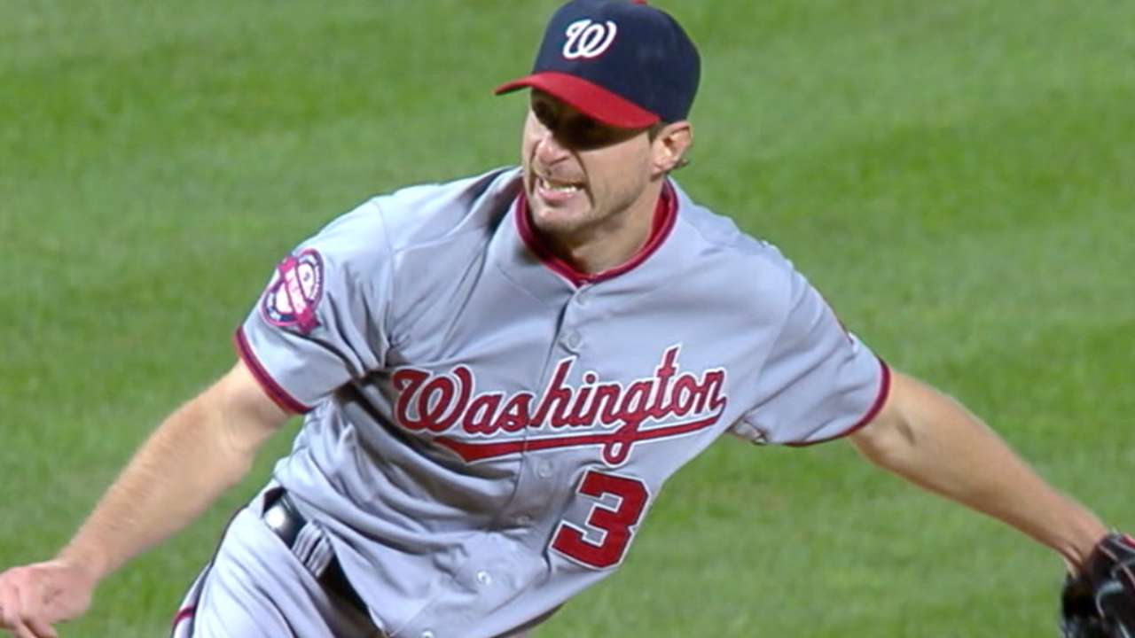 Scherzer on making Nats' history