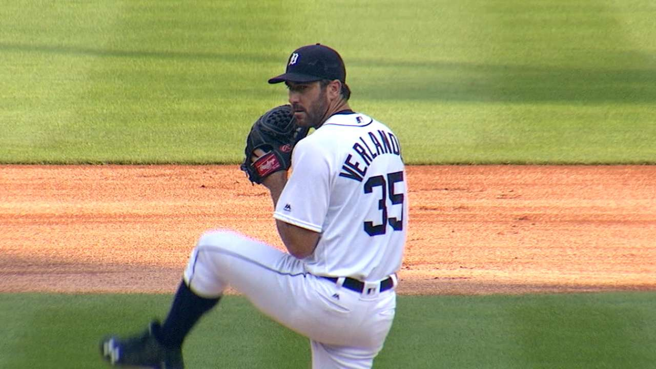 Verlander on health in 2016
