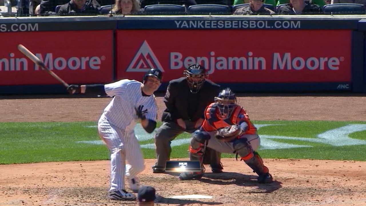 Astros acquire McCann from Yanks for 2 Minor League pitchers