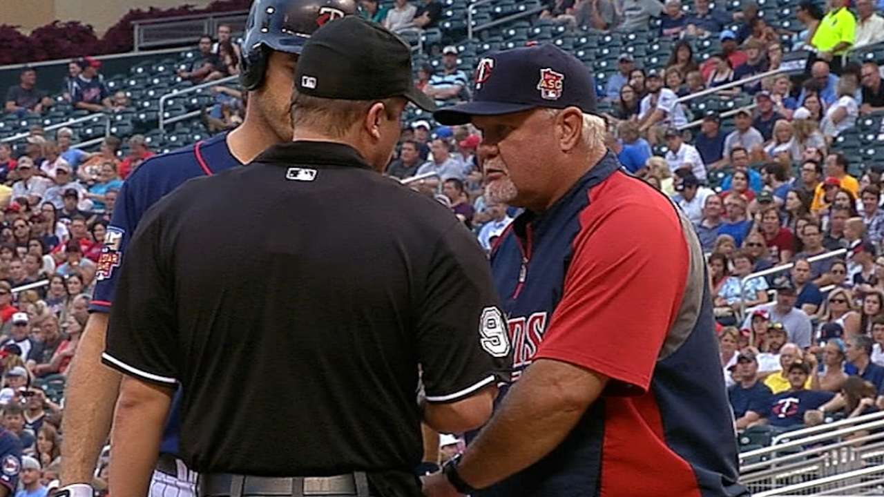 Gardenhire on his MLB experience
