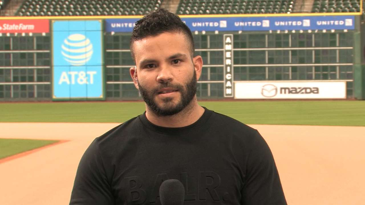 Altuve discusses new strategy