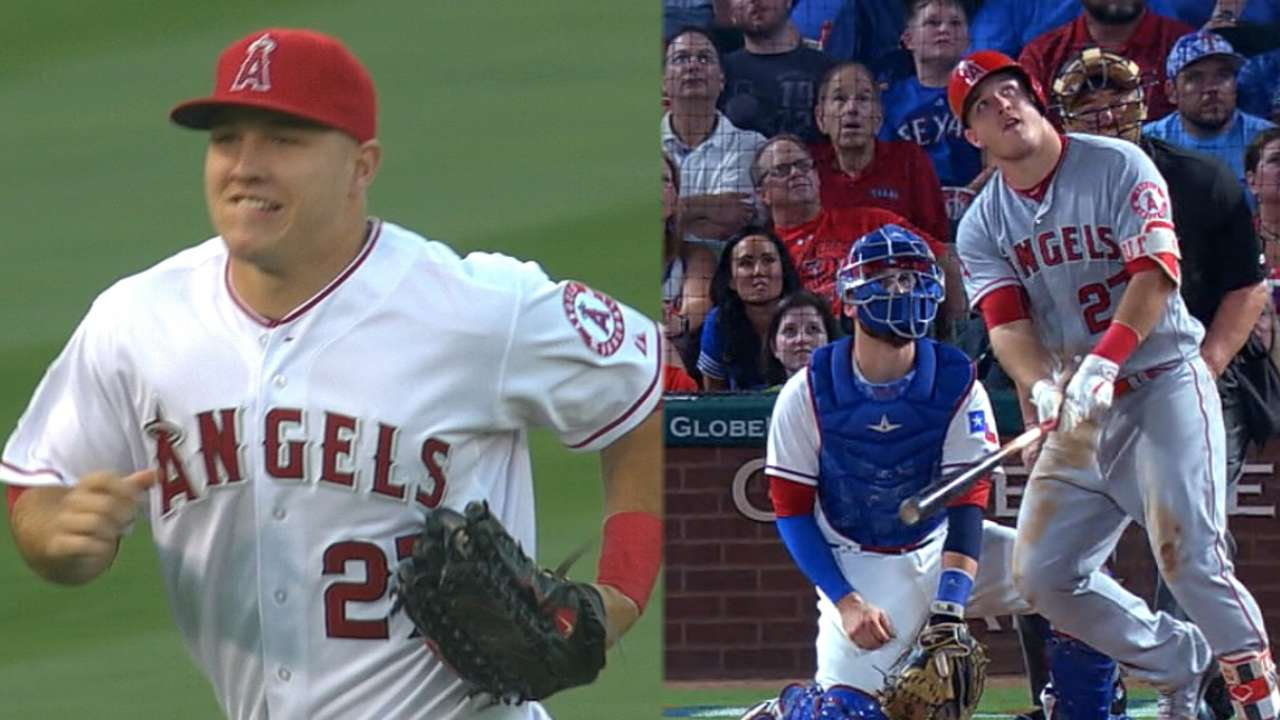 Trout claims 'surreal' second AL MVP Award