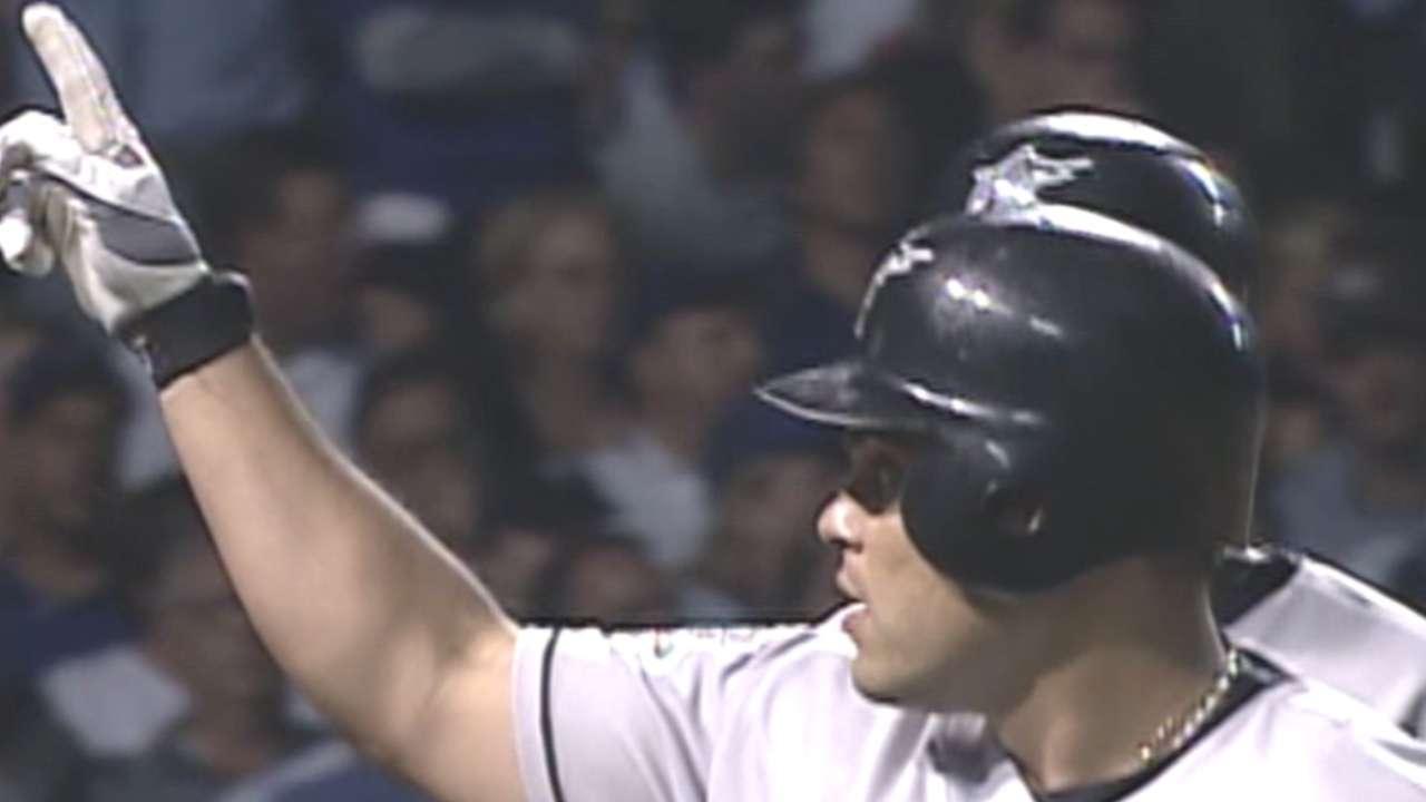 Pudge's three-run home run