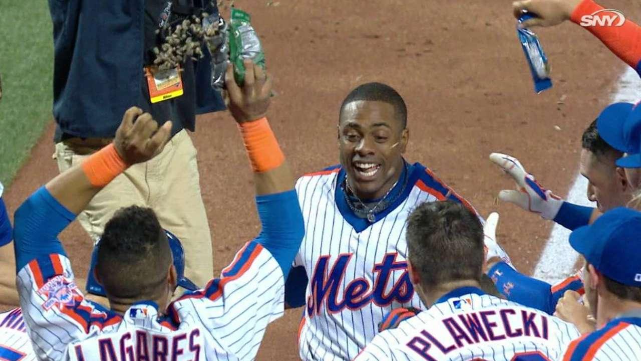 Jonrón de Granderson en la novena da triunfo a Mets