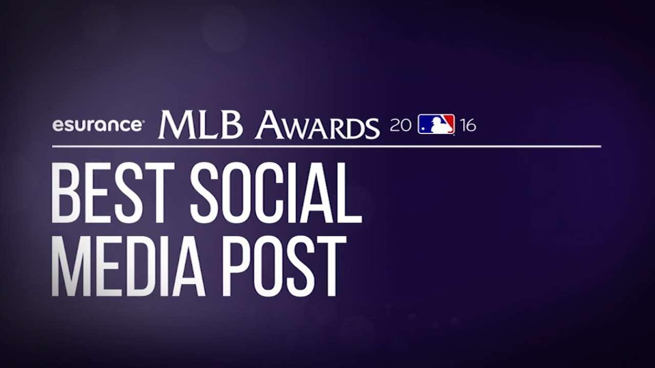 Magical season honored with 5 MLB Awards