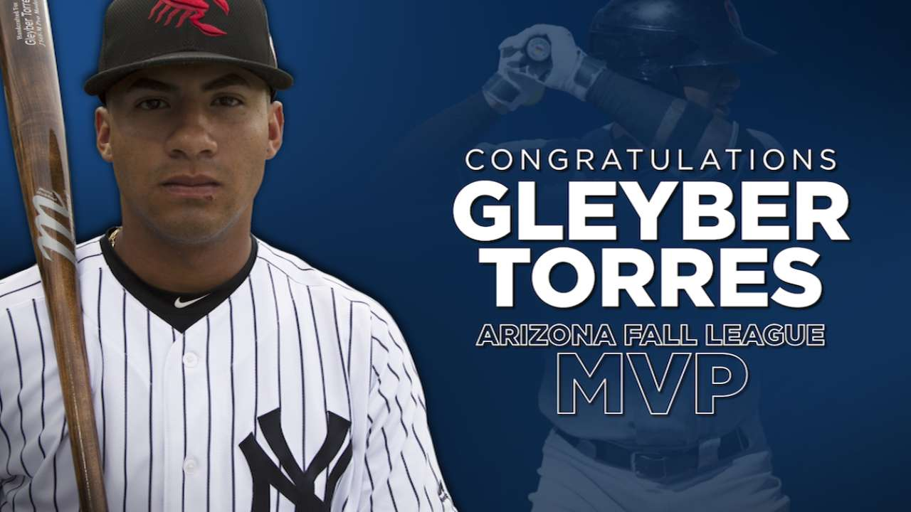 2016 Fall League: Gleyber Torres