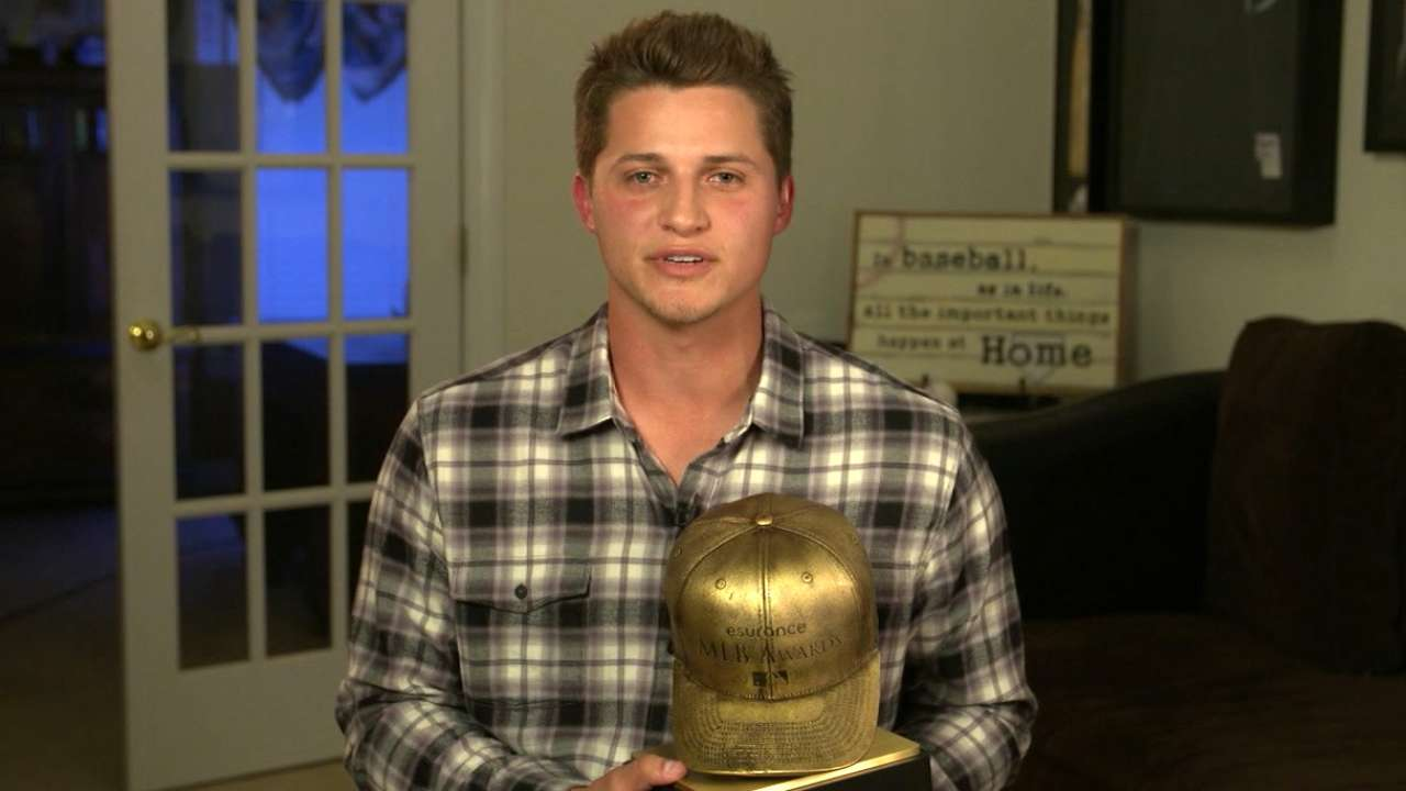 Best Rookie: Corey Seager