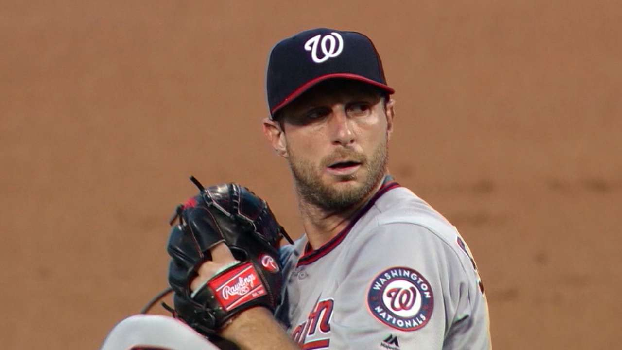 Scherzer's first two Nationals years are exceptional
