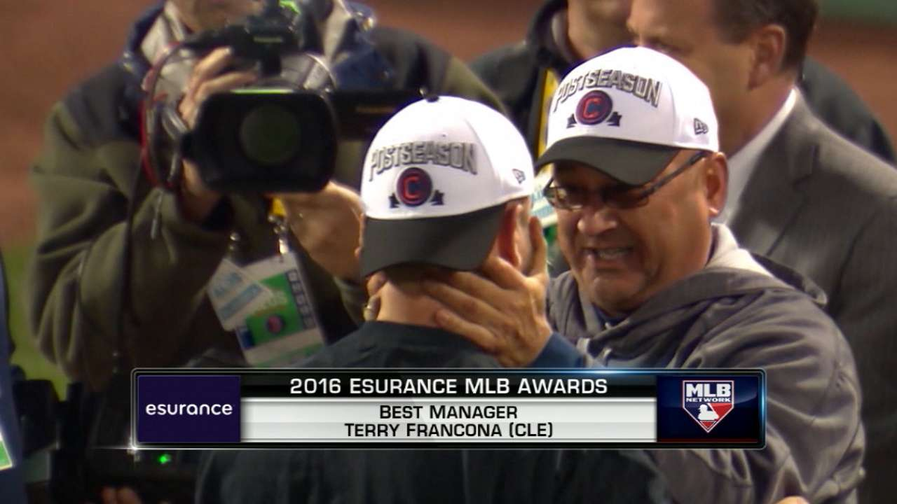 Best Manager: Terry Francona