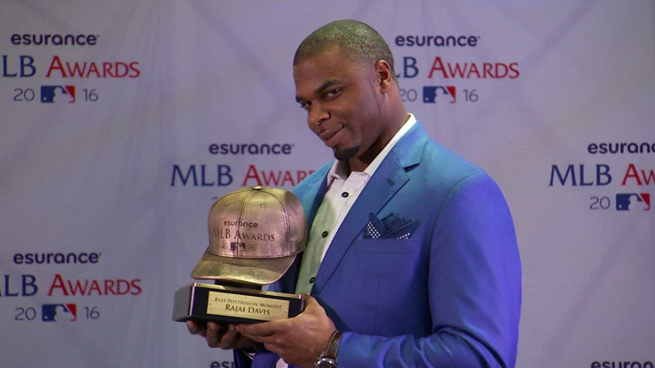 Tribe's big '16 rewarded with 6 MLB Awards