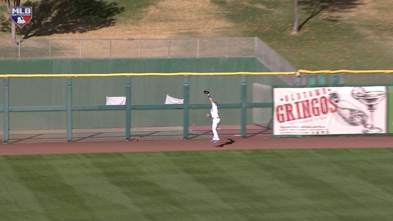 Happ's leaping catch