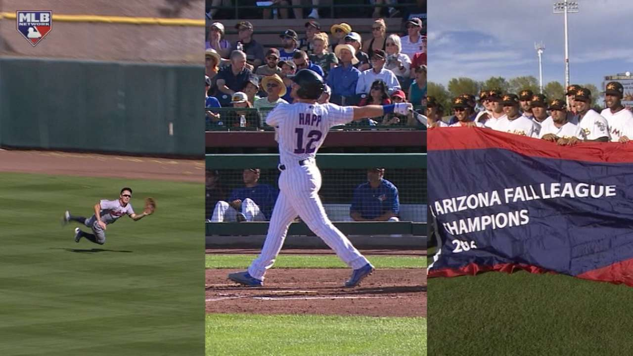 Cubs' Happ leads list of AFL title game top performers