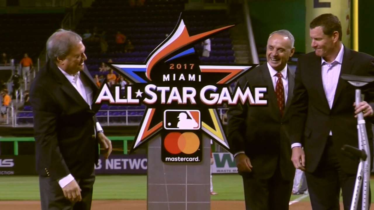 Marlins, MLB commit $5M to All-Star Legacy