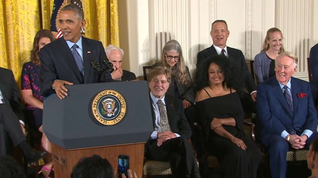 Obama introduces Scully