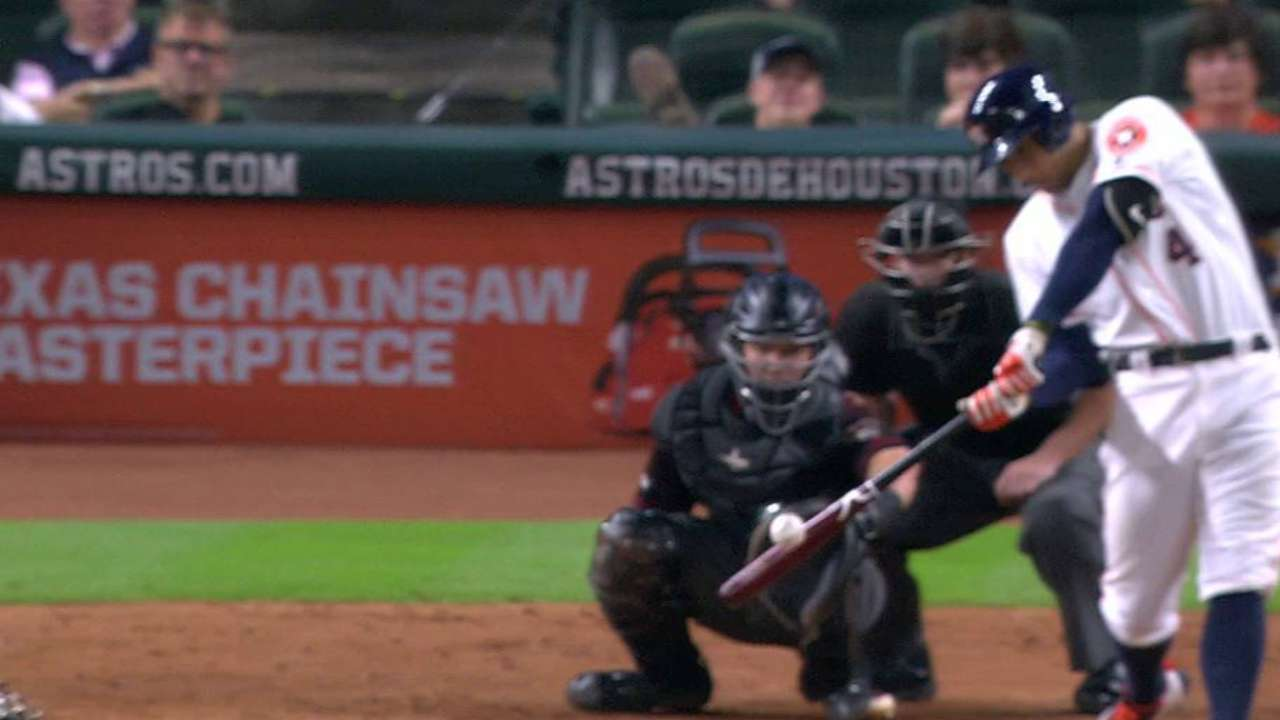 Springer in their step: Astros walk off in 11th