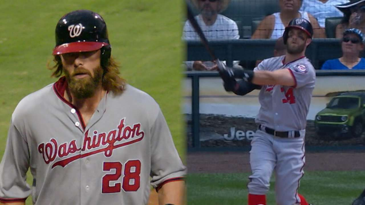 Around the Horn: Nats' outfield in line for big year