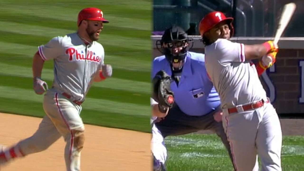 Statcast: Phillies' 2016 homers