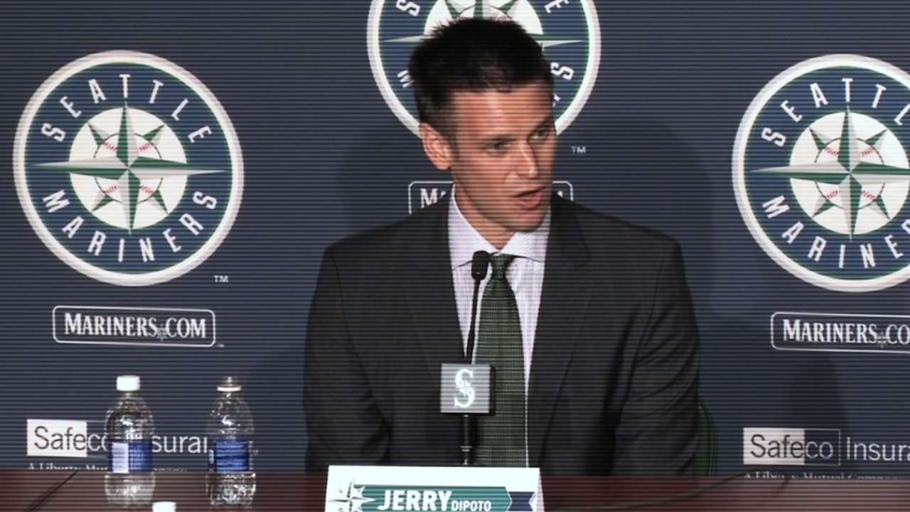 Dipoto keeps on dealin' to develop Mariners