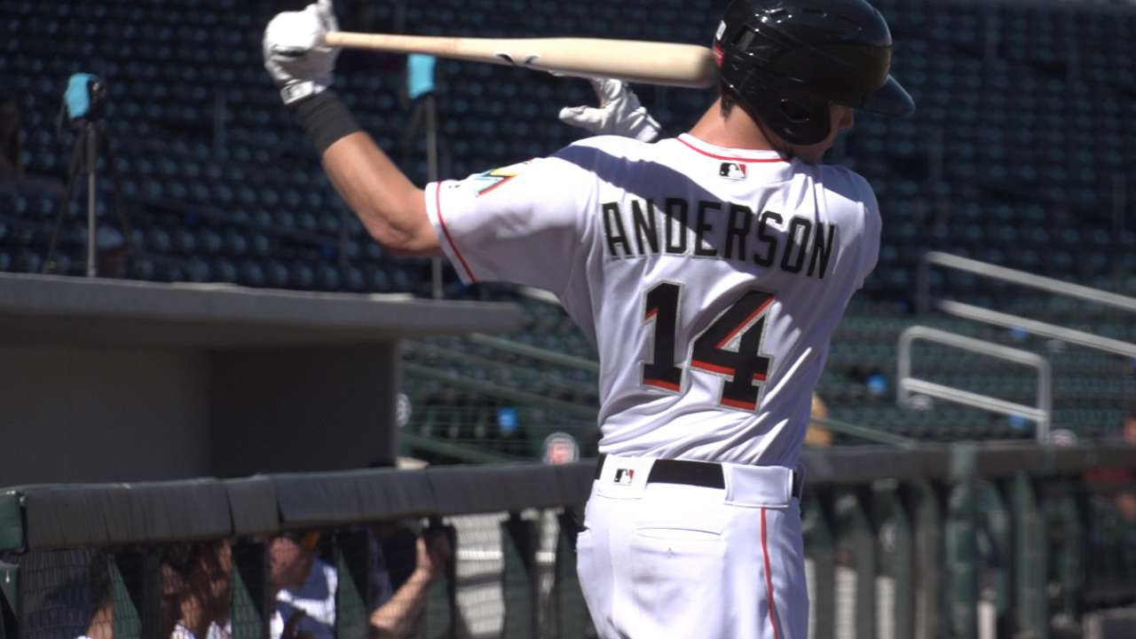 Next Big Leaguers: B. Anderson
